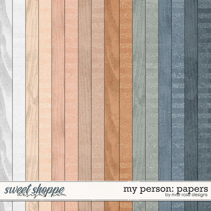 My Person: Papers by River Rose Designs
