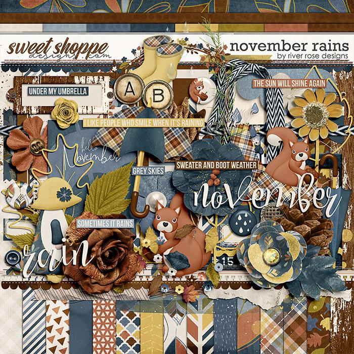 November Rains Kit by River Rose Designs