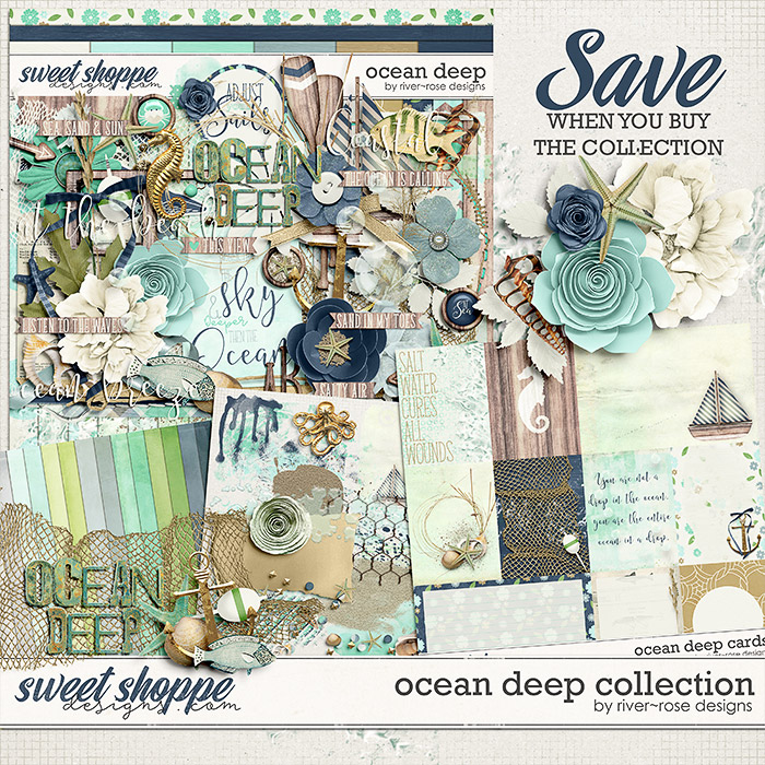Ocean Deep Collection by River Rose Designs