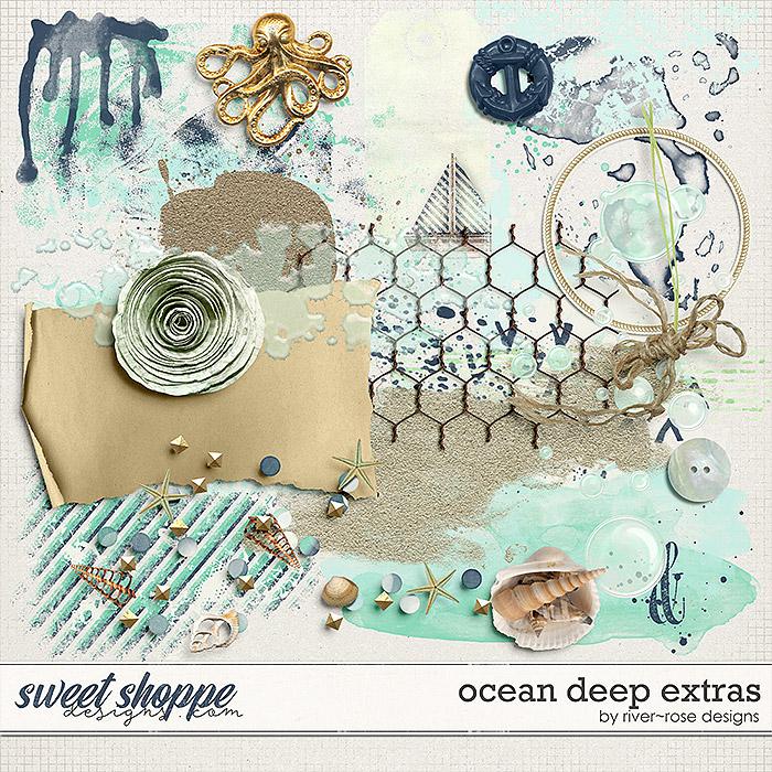 Ocean Deep Elements by River Rose Designs