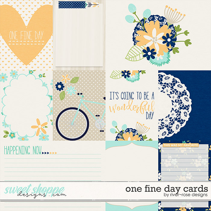 One Fine Day Cards by River Rose Designs