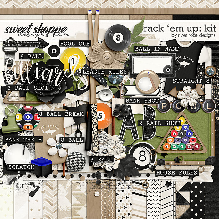 Rack 'Em Up: Kit by River Rose Designs