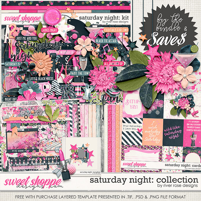 Saturday Night: Collection + FWP by River Rose Designs