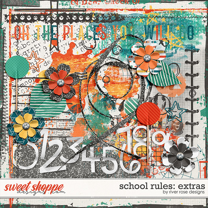 School Rules: Extras by River Rose Designs