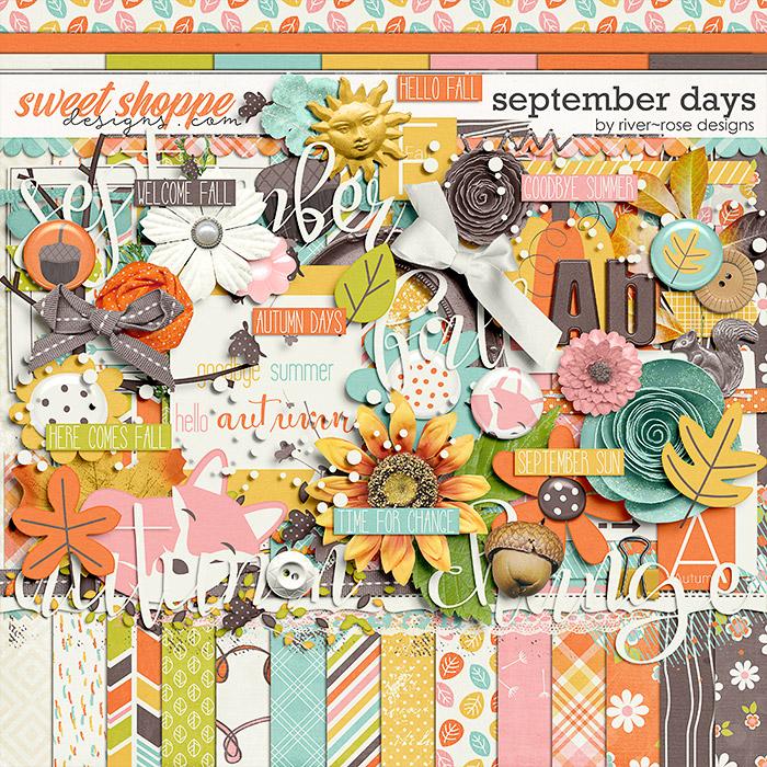 September Days Kit by River Rose Designs