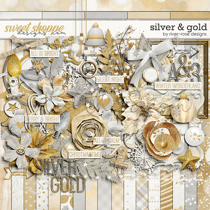 Silver & Gold Kit by River Rose Designs