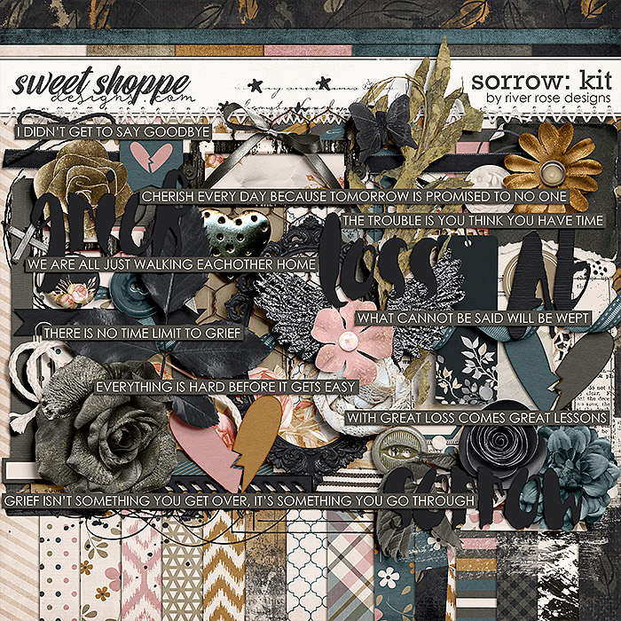 Sorrow: Kit by River Rose Designs