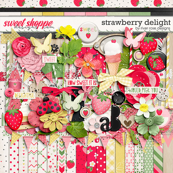 Strawberry Delight: Kit by River Rose Designs