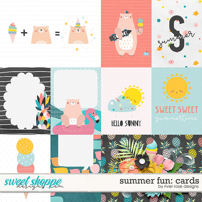 Summer Fun: Cards by River Rose Designs