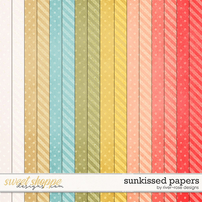 Sunkissed Papers by River Rose Designs