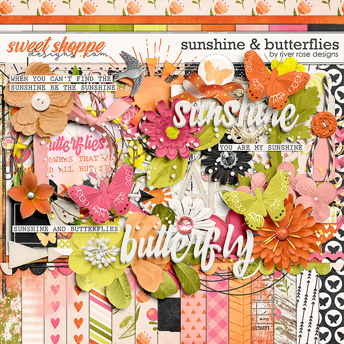 Sunshine & Butterflies: Kit by River Rose Designs