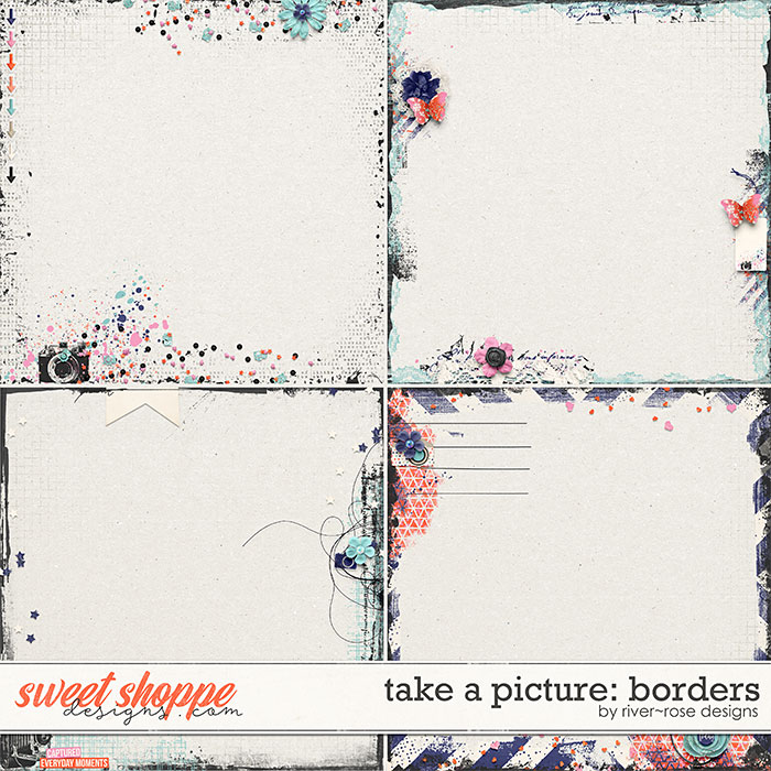 Take a Picture Borders by River Rose Designs
