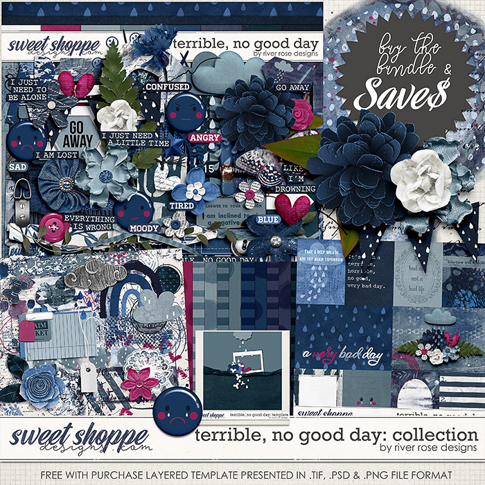Terrible, No Good Day: Collection + FWP by River Rose Designs