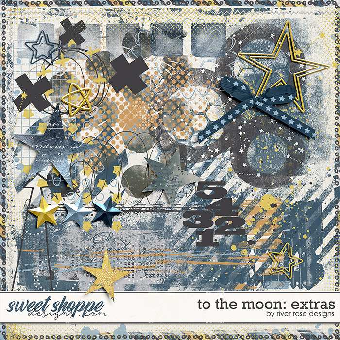 To the Moon: Extras by River Rose Designs
