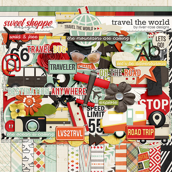 Travel the World by River Rose Designs
