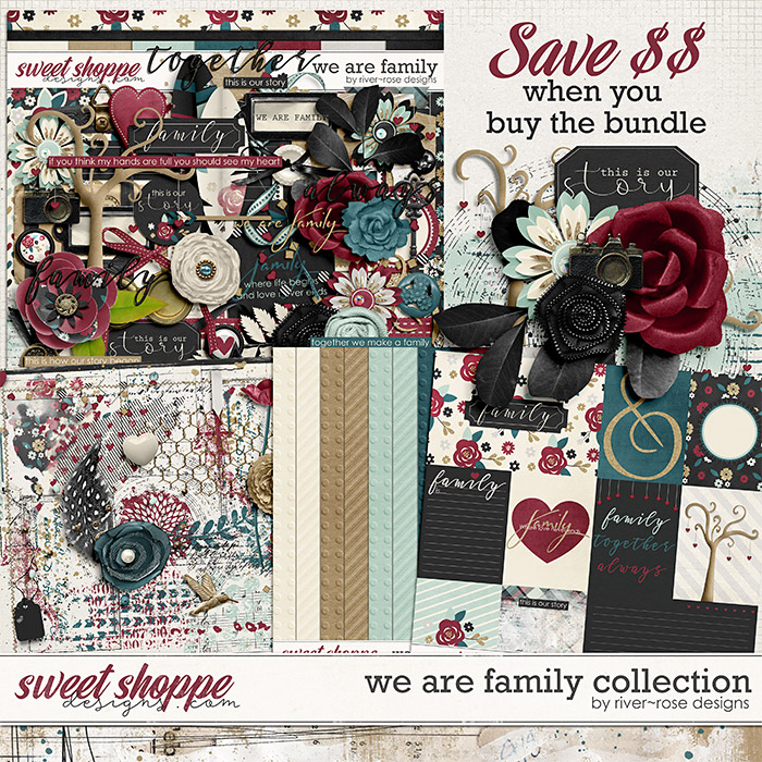 We are Family Collection by River Rose Designs