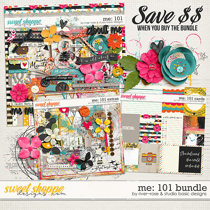 Me: 101 Bundle by River~Rose and Studio Basic