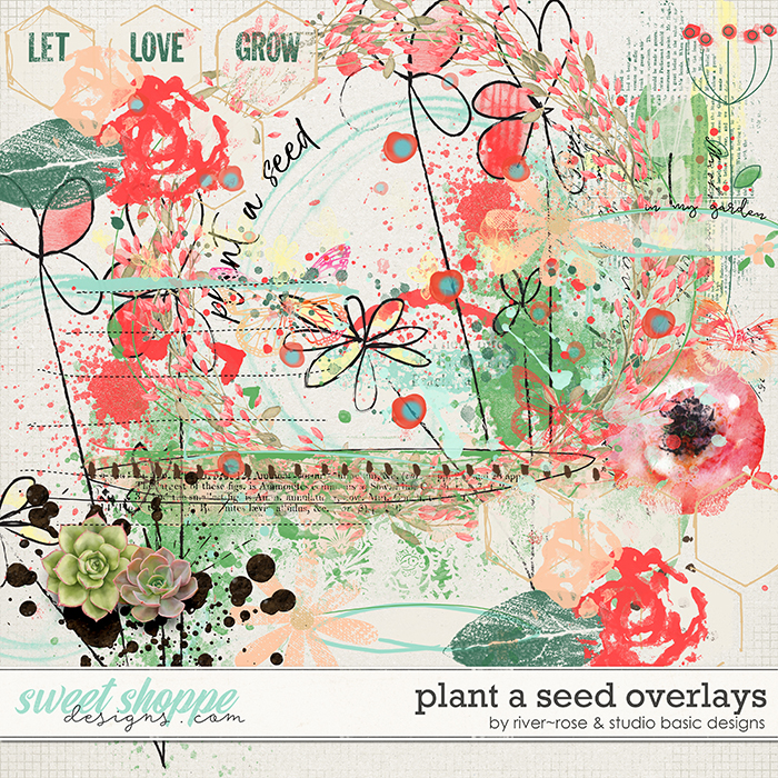 Plant A Seed Overlays by River Rose & Studio Basic Designs