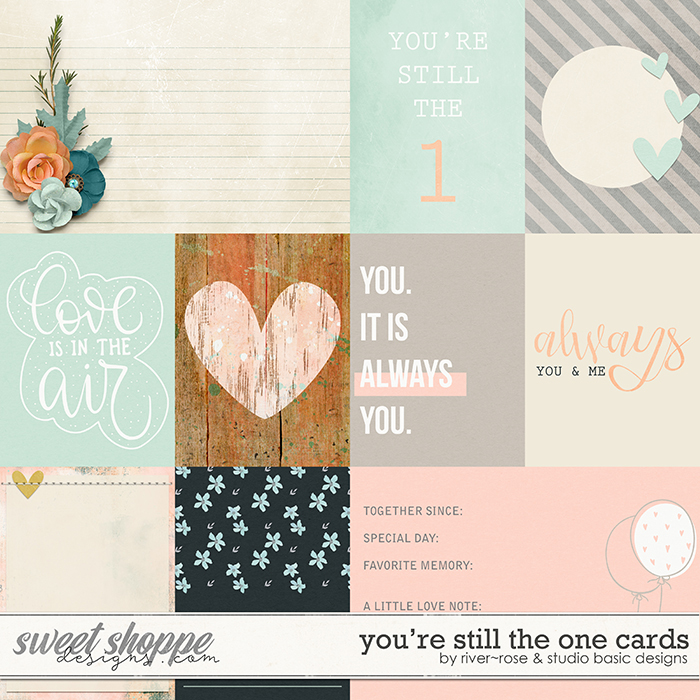 You're Still the One: Cards by River Rose Designs & Studio Basic Designs