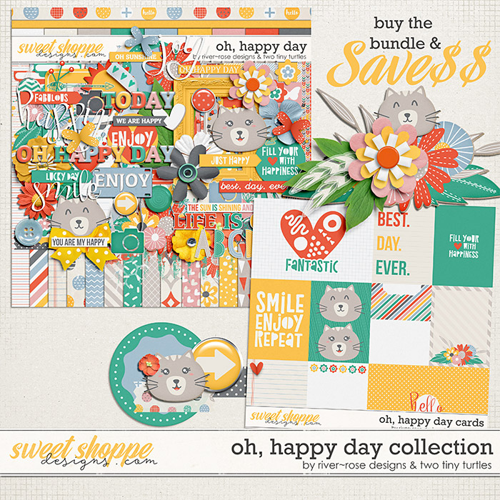 Oh, Happy Day :: Bundle by River~Rose Designs & Two Tiny Turtles