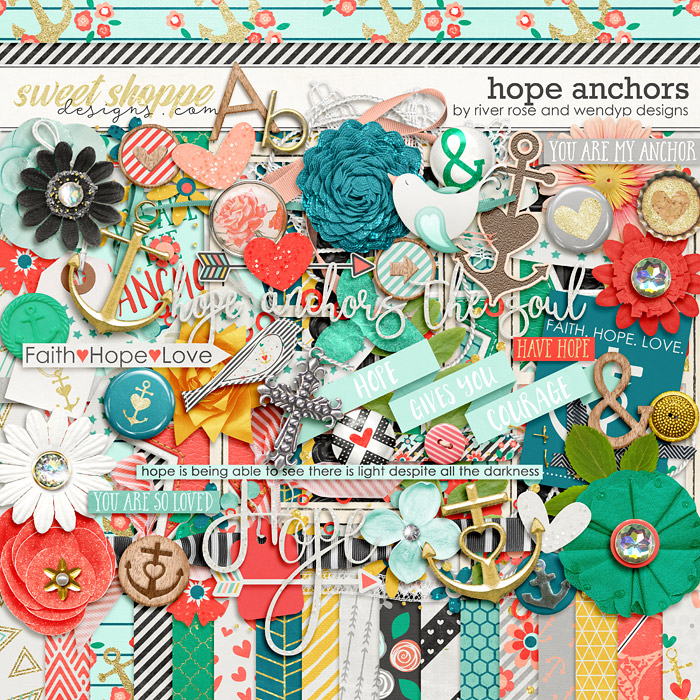 Hope Anchors by River Rose and WendyP Designs