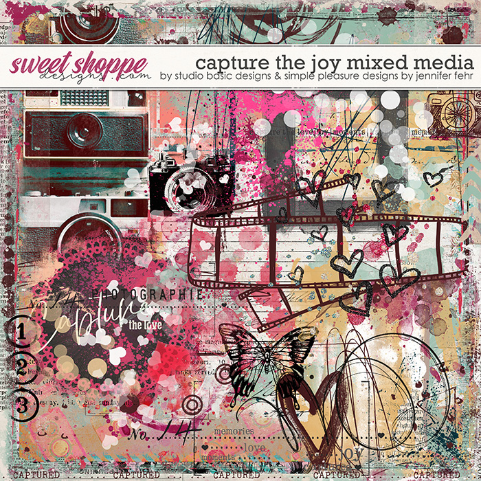Capture The Joy Mixed Media by Simple Pleasure Designs and Studio Basic