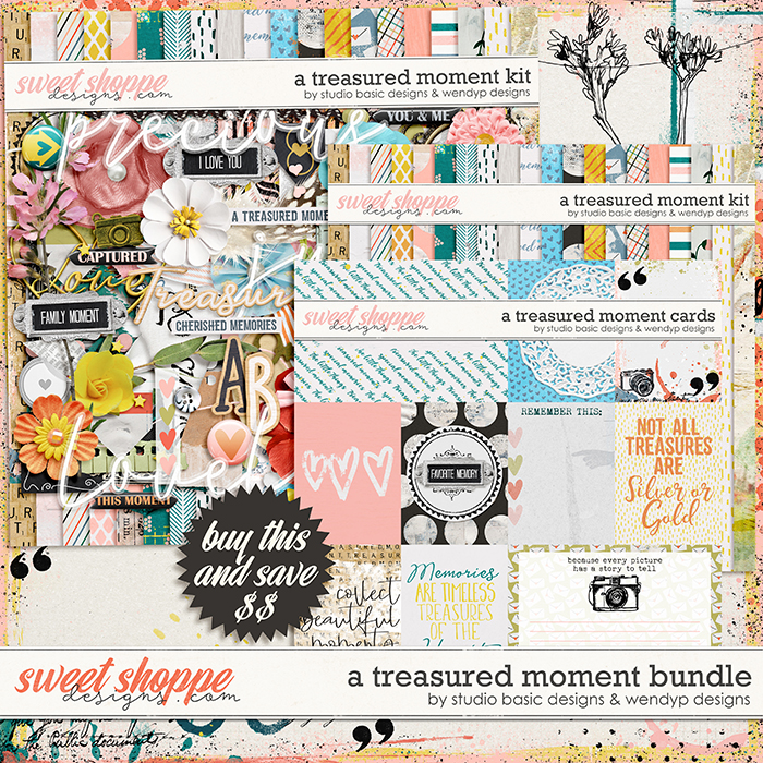 A Treasured Moment Bundle by Studio Basic and WendyP Designs
