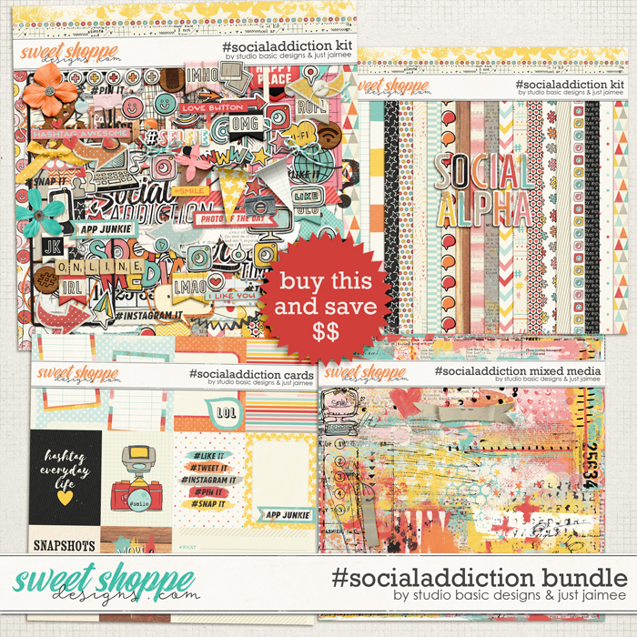 #socialaddiction Bundle by Studio Basic and Just Jaimee