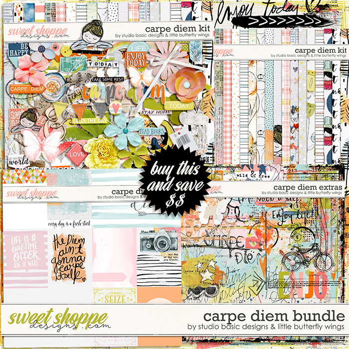 Carpe Diem Bundle by Studio Basic and Little Butterfly Wings
