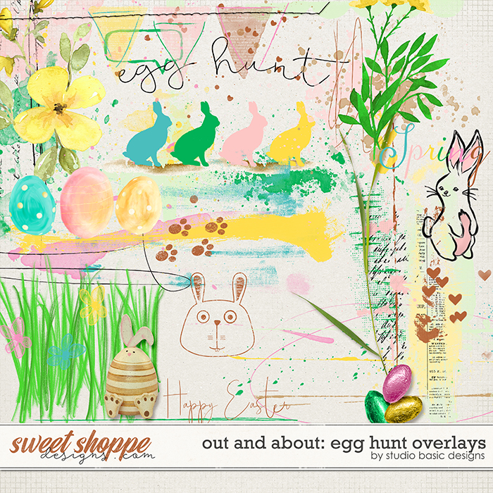 Out and About: Egg Hunt Overlays by Studio Basic Designs