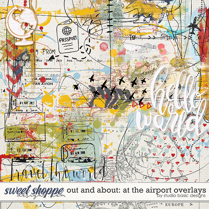 Out and About: At The Airport Overlays by Studio Basic