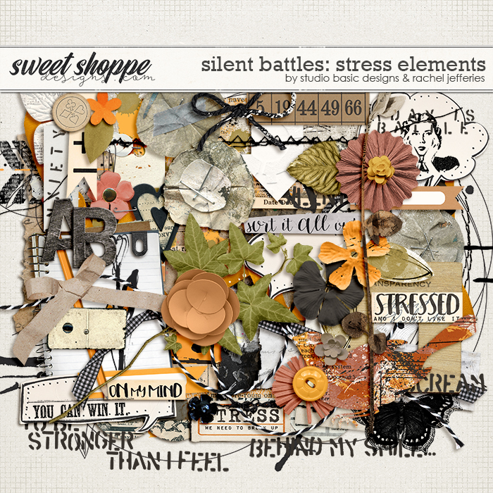 Silent Battles: Stress - Elements by Studio Basic Designs & Rachel Jefferies