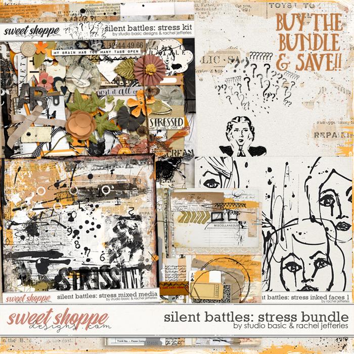 Silent Battles: Stress - Bundle by Studio Basic Designs & Rachel Jefferies