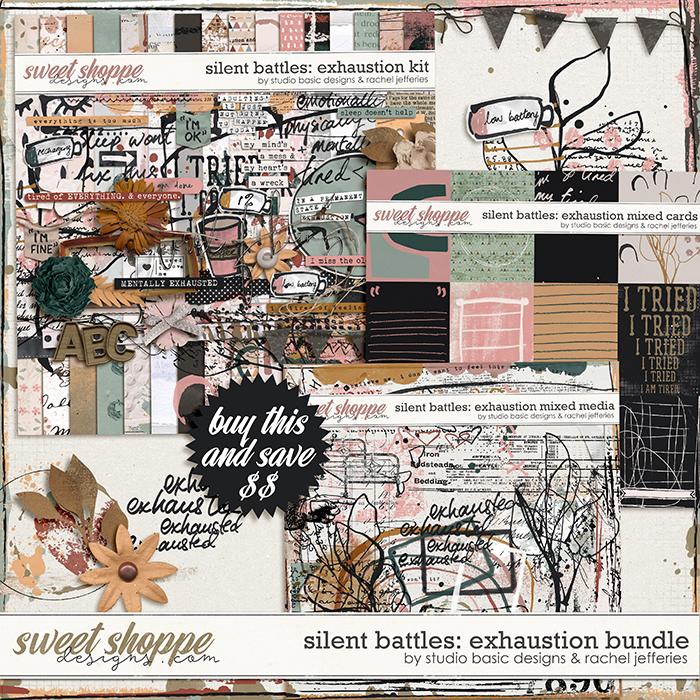 Silent Battles: Exhaustion - Bundle by Studio Basic Designs & Rachel Jefferies