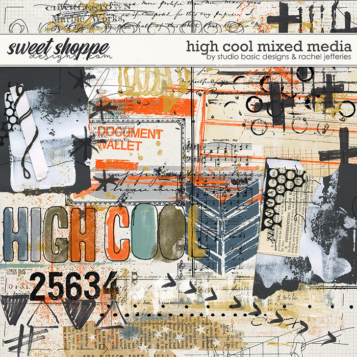 High Cool Mixed Media by Studio Basic and Rachel Jefferies