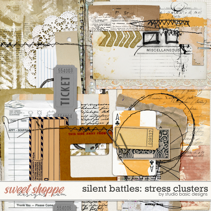 Silent Battles: Stress - Clusters Studio Basic