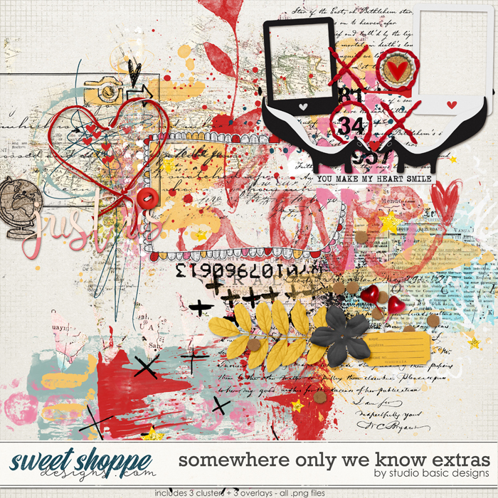 Somewhere Only We Know Extras by Studio Basic