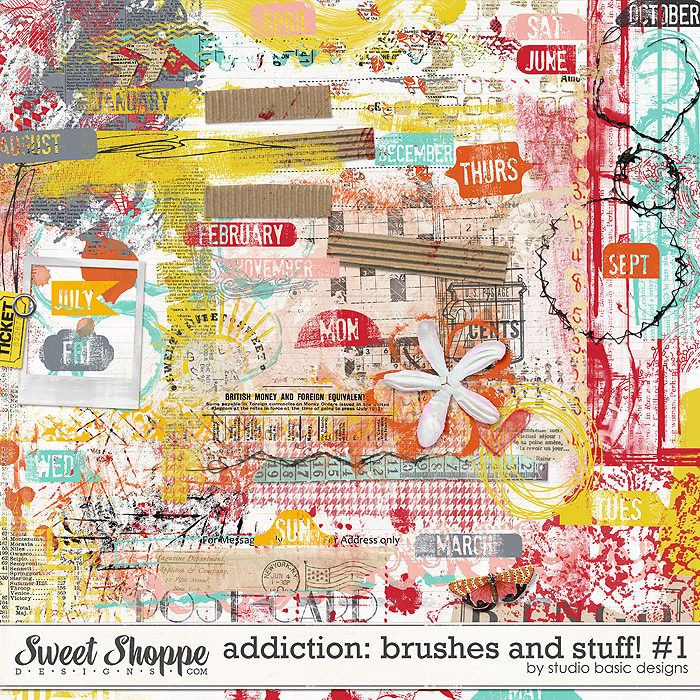 Addiction: Brushes And Stuff! #1 by Studio Basic