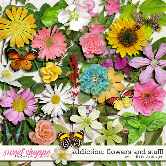 Addiction: Flowers and Stuff! by Studio Basic
