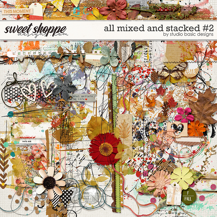All Mixed and Stacked #2 by Studio Basic