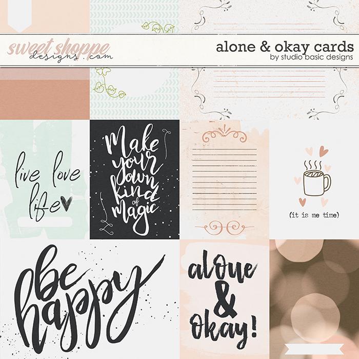 Alone & Okay Cards by Studio Basic