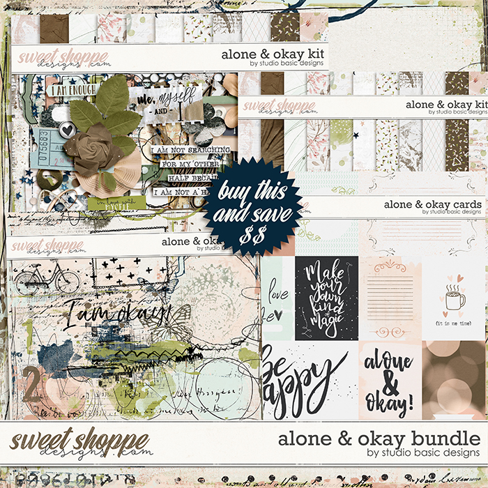 Alone & Okay Bundle by Studio Basic