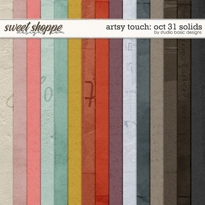 Artsy Touch: Oct 31 Solids by Studio Basic