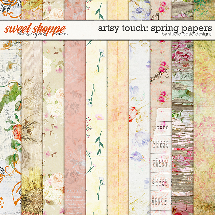 Artsy Touch: Spring Papers by Studio Basic