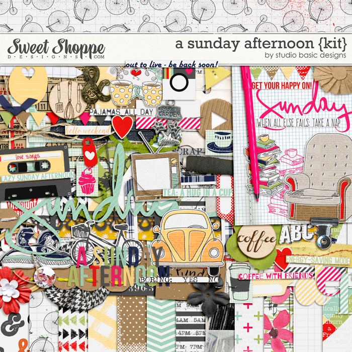 A Sunday Afternoon {Kit} by Studio Basic