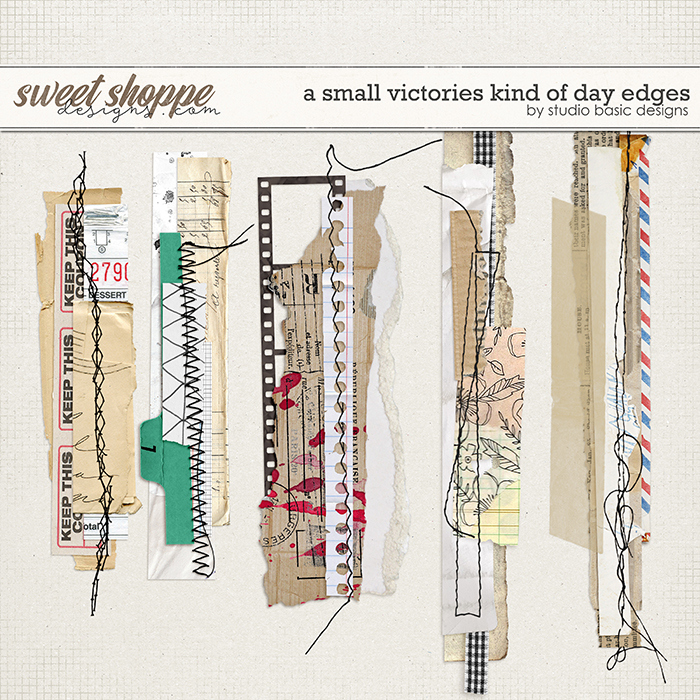 A Small Victories Kind Of Day Edges by Studio Basic