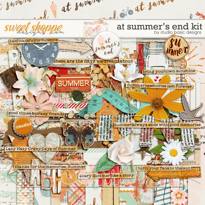At Summer's End Kit by Studio Basic