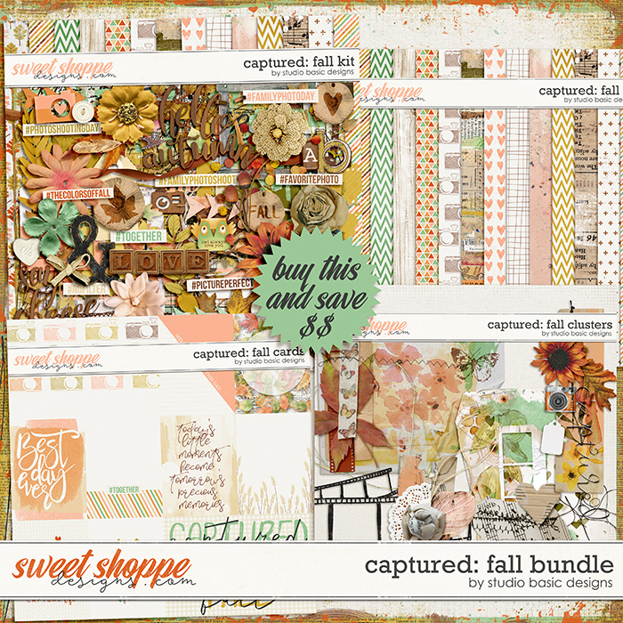 Captured: Fall Bundle by Studio Basic