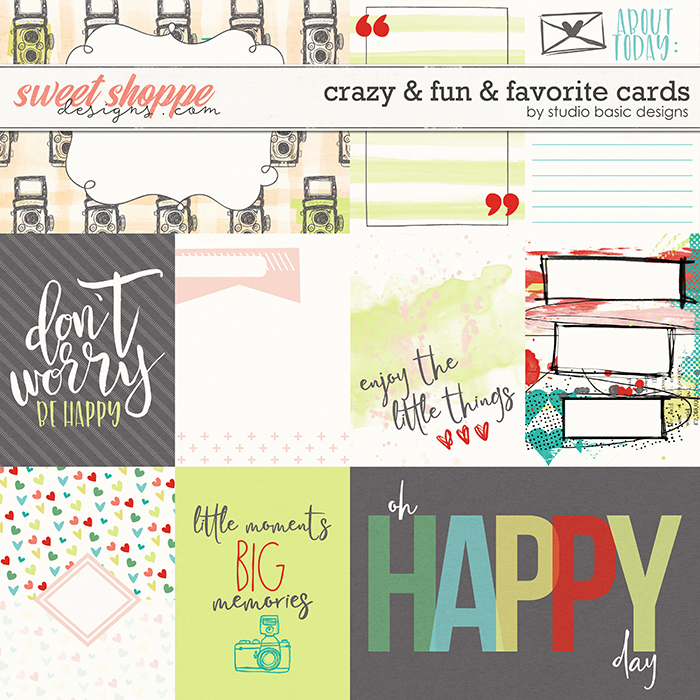 Crazy & Fun & Favorite Cards by Studio Basic