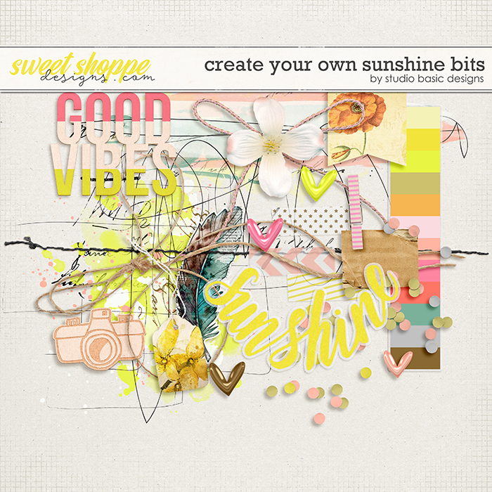 Create Your Own Sunshine Bits by Studio Basic